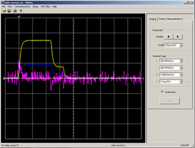 Emerald Motion Control Tuning Software