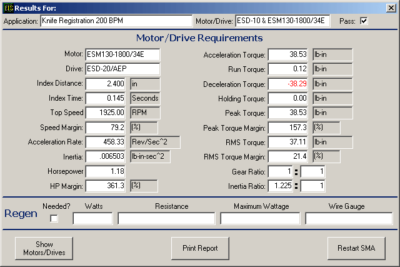 Emerald Motion Control Software Tool