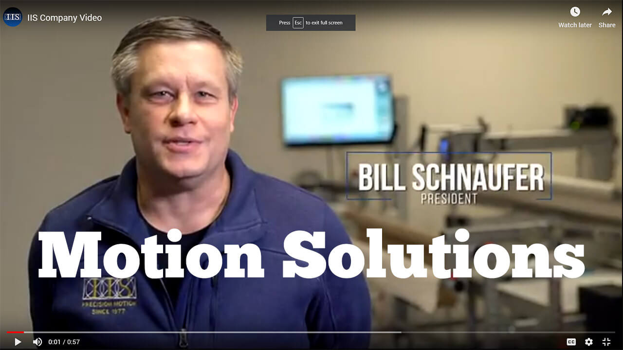 Industrial Indexing Motion Control Solutions Video